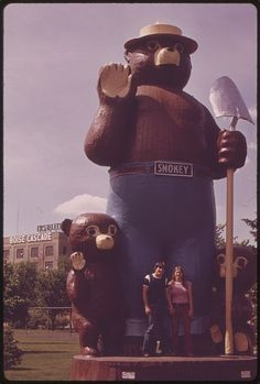 Smokey the Bear: Don't play with Matches - funny short story