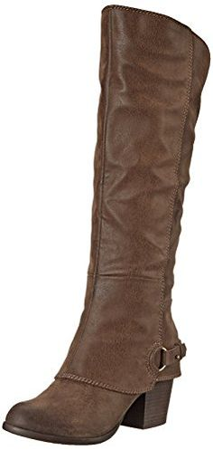 Fergalicious Women's Lexy Western Boot,TAUPE , 7.5 M US F...