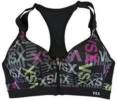 Victoria/'s Secret VSX Incredible Strappy Sports Bra Colorblock Green Blue