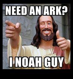 jesus ark pun, funny puns