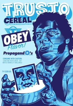 Shepard Fairey and TrustoCorp Dropping Satirical Cereal Boxes in L.A. Grocery Stores