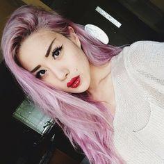 EUGÉNIE GREY @Kristen Wing Grey Instagram photos   Webstagram Gray Instagram, Glock Models, Pink Hair, Hair Inspiration, Hair Styles, Photos, Rosa Hair, Hair Plait Styles, Pictures