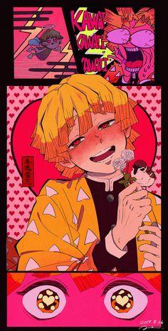 Kimetsu no Yaiba // 鬼滅の刃 // Blade of Demon Destruction // Demon Slayer: Kimetsu no Yaiba { AbinoMUN } Demon Manga, Manga Anime, Anime Art, Demon Slayer, Slayer Anime, Animes Wallpapers, Cute Wallpapers, Aesthetic Art, Aesthetic Anime