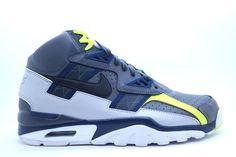 [302346-007] NIKE USA INC MENS NIKE AIR TRAINER SC HIGH MENS SHOES DARK GREY/BL #NIKEUSAINC #AthleticSneakers