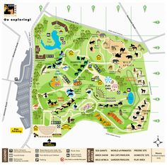 Zoo Map Omahas Henry Doorly Zoo Entertainment in Omaha Visit
