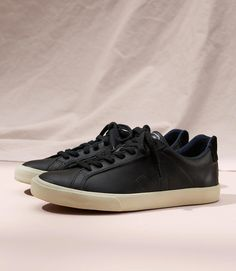 23e42efd0907 Color Swatch 2222Veja Esplar Leather Black Swatch