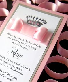 Sweet 16 Royalty InVitation by ExQuisiteInVitation on Etsy. Love but 5.50 each ouch!