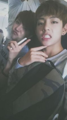 J-Hope and V - BTS