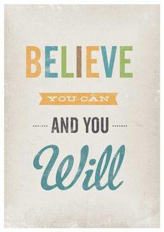I believe,  I believe!