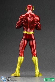 "dfdd203a76d75 The Flash New 52 ""DC Comics"" ArtFX + Statue from Kotobukiya"