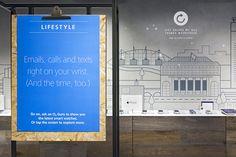 O2, Manchester: reimagining the telecomms store - Dalziel & Pow