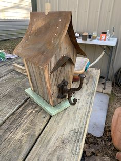 Salvaged Wood Projects, Dad Crafts, Wood Bird, Scrap, Woodworking, Outdoor Decor, House, Home Decor, Reclaimed Wood Projects