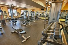 You're not at the best Fitness Club in town. You're home! If you live in the new home community of Idyllwilde near Denver, this is your fitness center. Did we mention the Community Center also has a pool with a lookout tower?