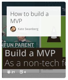 You don't need to be a tech-savvy guy to build a MVP. This teaches you how to get started! #MVP #Startups