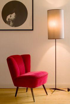 Floor lamp/Stehlampe Barcelona Gesamthöhe: 183 cm By LichtscheuBerlin