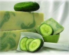 The soothing lather from this homemade cucumber soap will nourish and pamper your skin, helping to reduce any redness, puffiness or excessive oiliness. Description from homemadehomeideas.com. I searched for this on bing.com/images