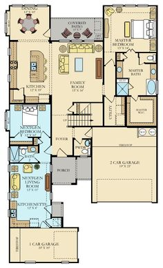 Our Camden Next Gen Floor plan is an amazing 3,000+ SQFT dual living home in our Leander Community Carneros Ranch. Contact Ashley and Heidi for more details!