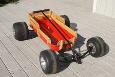 Custom radio flyer wagon pics and ideas? - Page 18 - THE H. Custom Radio Flyer Wagon, Radio Flyer Wagons, Kids Wagon, Toy Wagon, Custom Rat Rods, Solar Car, Little Red Wagon, Kids Ride On, Pedal Cars