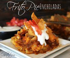 Frito Pie Enchiladas!