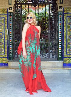 Just in: Extravagant Summer Kaftan, Red Patterned Maxi Dress, Handmade Red Chiffon Kaftan with Abstract Green Pa...  https://www.etsy.com/listing/519878116/extravagant-summer-kaftan-red-patterned?utm_campaign=crowdfire&utm_content=crowdfire&utm_medium=social&utm_source=pinterest