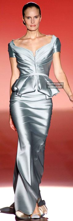 The Best Gowns of Fall 2014 Fashion Week International: Hannibal Laguna FW 2014 #MadridFashionWeek
