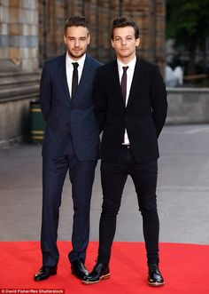 Liam Payne and Louis Tomlinson - Cinderella Ball 10.8.2015
