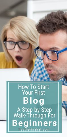 How to Start Your First Blog (A Beginner's Guide) Step by step directions #blogging #howtostartablog #bloggingtips