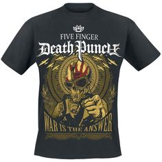 five finger death punch-war is the answer shirt