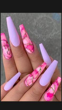 Bling Acrylic Nails, Acrylic Nails Coffin Short, Pink Nail Art, Summer Acrylic Nails, Best Acrylic Nails, Coffin Nails, Sexy Nail Art, Cute Acrylic Nail Designs, Best Nail Designs