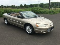 Car brand auctioned:Chrysler Sebring LXi Convertible 2-Door 02 Car model chrysler sebring lxi convertible one owner only 80 k no reserve