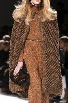Chloé Fall 2010 Beautiful!  I would wear this instead of a coat!