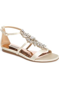 d073059360f0bc Badgley Mischka Barstow Embellished Strappy Sandal (Women) available at