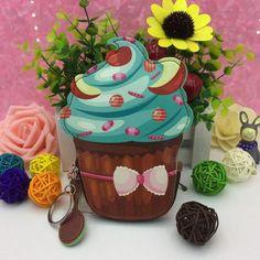 Cupcake Coin Purse Cute | Kawaii | Harajuku | Wallets | Novelty Purses