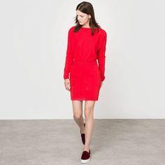 64f48b4f3071 L Herbe Rouge X La Redoute Madam Womens Mini Skirt Straight Skirt
