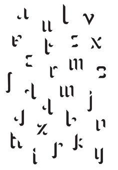 Modular typography - Pauline Le Pape
