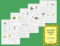 The Lower Elementary Cottage: Social Skills Cards and Behavior Management