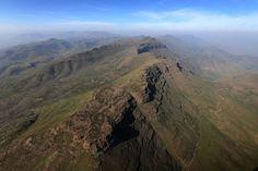Montañas cercanas a Maseru, la capital y mayor ciudad de Lesoto, foto de Chris Jackson (Getty Images)