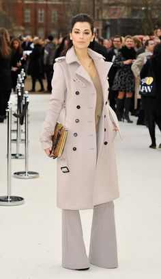 Fiorgia Surina wearing Burberry at the Burberry Prorsum Womenswear Autumn/Winter 2012 show #LFW
