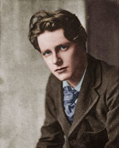 Rupert Brooke poems, quotations and biography on Rupert Brooke poet page. Read all poems of Rupert Brooke and infos about Rupert Brooke. Rupert Brooke, English Writers, English Poets, Writers And Poets, Xenoblade X, British Poets, People Of Interest, Young Man, First World