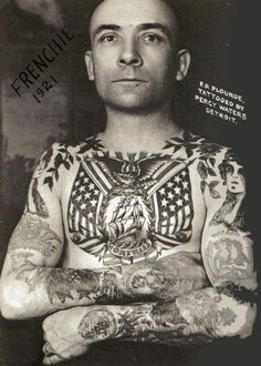 Tattoo by Percy Waters 1920 Detroit.