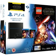 Image of Sony PlayStation 4 1TB - Includes LEGO Star Wars: The Force Awakens & Star Wars: The Force Awakens Blu-ray