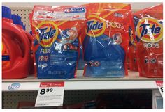 Tide PODS Laundry Detergent as low as $4.49 at TARGET! - http://www.momscouponbinder.com/tide-pods-laundry-detergent-low-4-49-target/