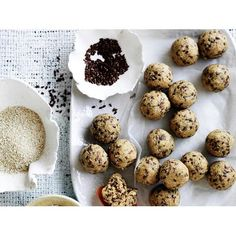 No−cook oatmeal balls recipe - By Australian Women's Weekly, Looking for healthy, nourishing snack ideas? Try these no−cook oatmeal balls - full of natural, wholesome ingredients and so delicious! Suitable for the 2-Day Fast Diet.