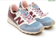 WR996UD - Womens New Balance - Peach Dusty Blue Brown Shoe