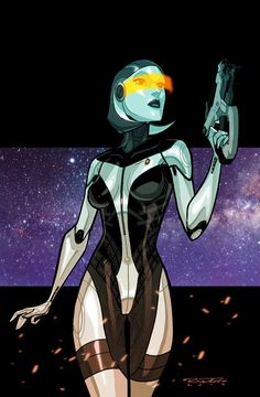 Mass Effect::EDI by *KharyRandolph on deviantART