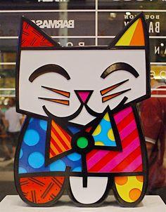 SQUEAKI BULLDOG B razilian pop artist Romero Britto is known for hi use of vibrant colors and bold patterns that are a visual languag. Pop Art, Graffiti Painting, Graffiti Art, Ecole Art, Art Graphique, Elements Of Art, Art Classroom, Art Plastique, Elementary Art