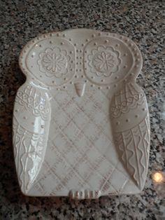 Owl plate   <3