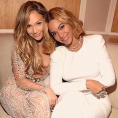 The time she and Beyoncé just looked like the definition of cool partying together. | 19 Times Jennifer Lopez Proved She Was The Celeb Having The Most Fun On Instagram