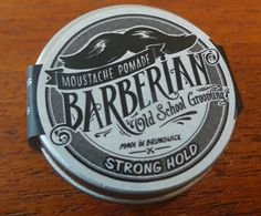 This moustache pomade has been hand-poured with 100%organic ingredients with some essential oils. Your upper lip will be looking sharp and dapper.