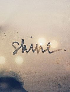 #shine